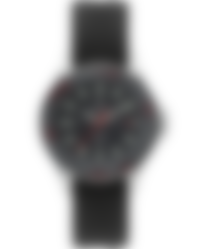Timex Archive Navi World Time 38 Mm Fabric Strap Watch Black
