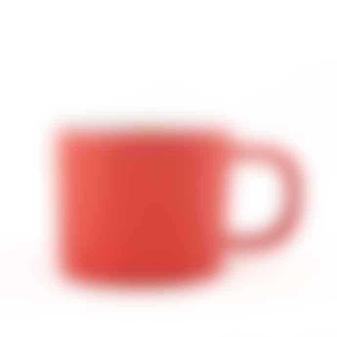 Quail's Egg Gorgeous Coral Ceramic Mug