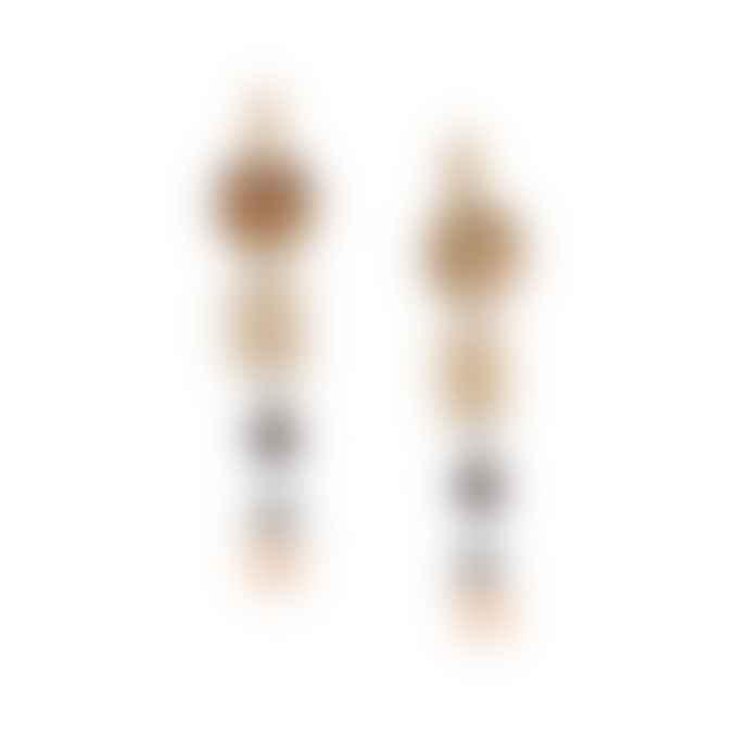 Franck Herval Mylene Long Hook Earrings