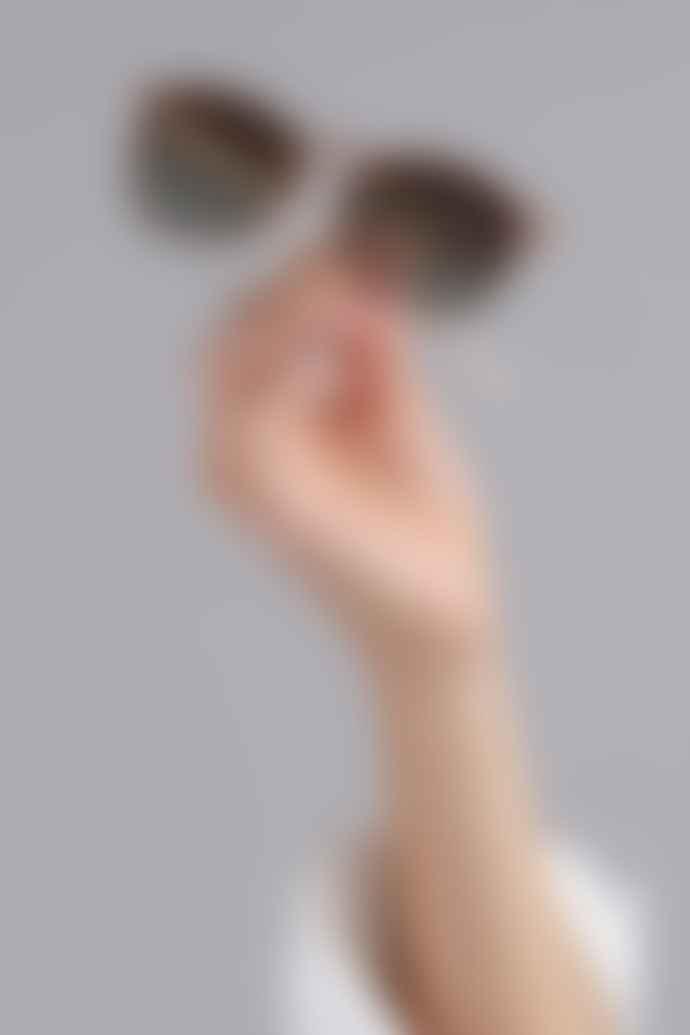 Pilgrim Vanille Sunglasses In Nude Brown