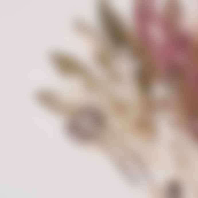 Botanique Workshop Dried Flower Bunch Raspberry Ripple Small