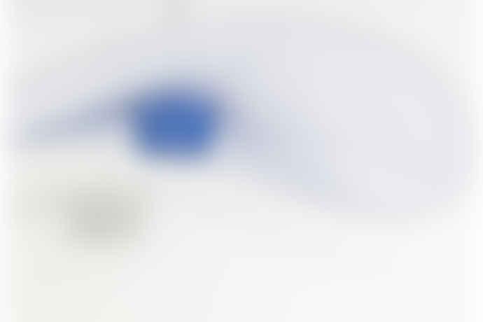 Petite Friture Vertigo Pendant Lamp, Large, Cobalt