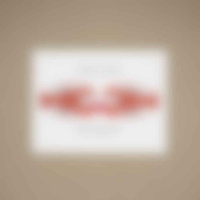 Quick Brown Fox Letterpress Lobster Anniversary Card
