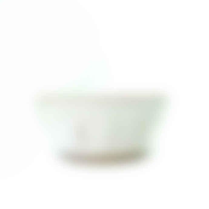 Hyde And Seek White Stoneware Handmade Bowl
