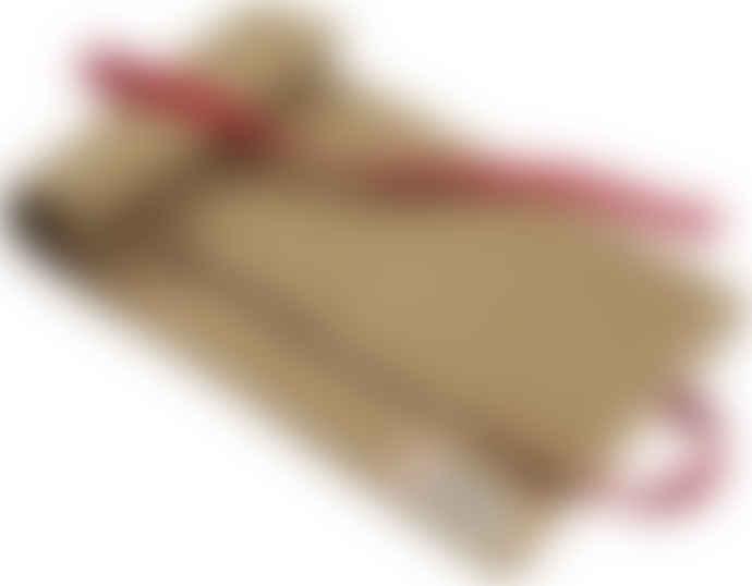 Niwaki Heavy Duty Tan And Red Canvas Tool Roll