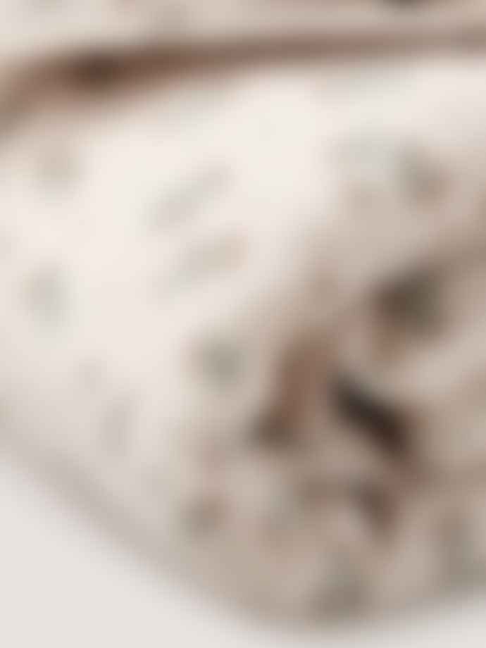 Garbo & Friends Clover Muslin Single Bed Duvet Cover Set