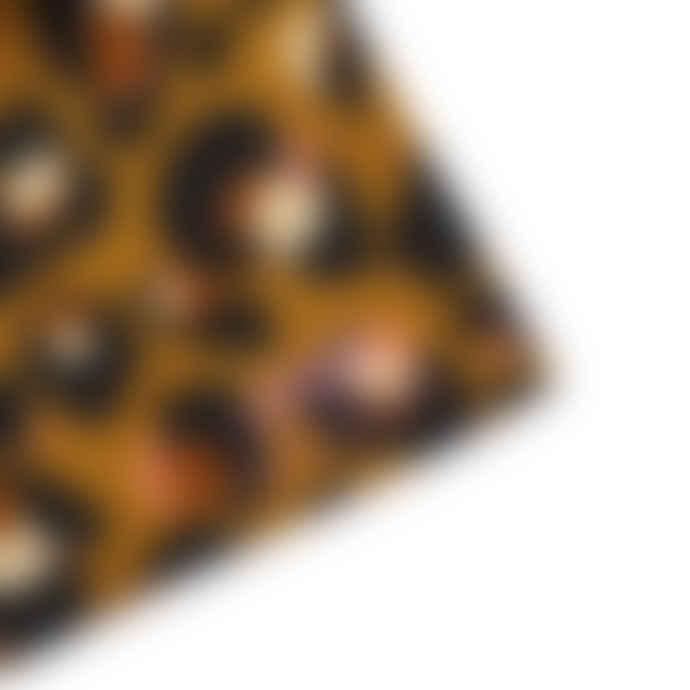 Eleanor Bowmer Caramel Leopard Print Tea Towel