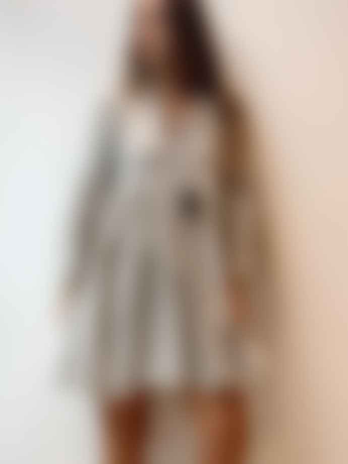 Pearl & Caviar Zakar Short Dress Grey