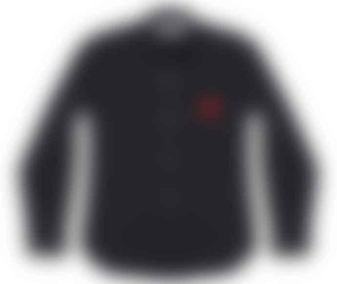 Comme Des Garcons Play Red Play Shirt Black P1B002
