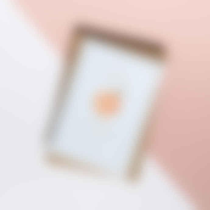 À L'Aise You're A Peach Thank You Card