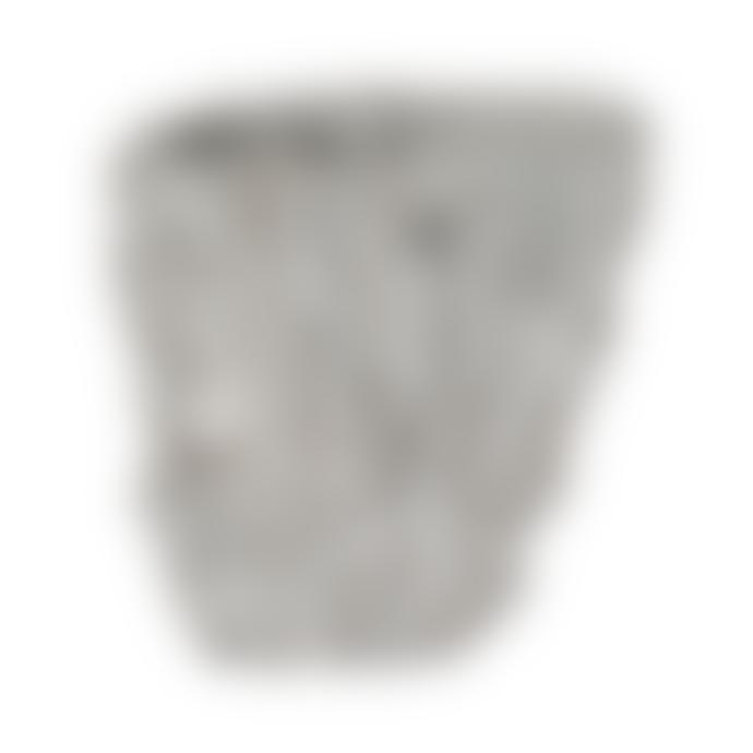 PTMD Tall Brutalist Ceramic Vase 19cm
