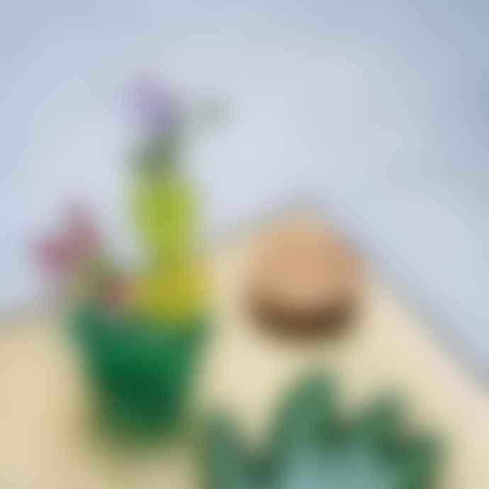 &klevering Vase Cactus Small Ocean Green