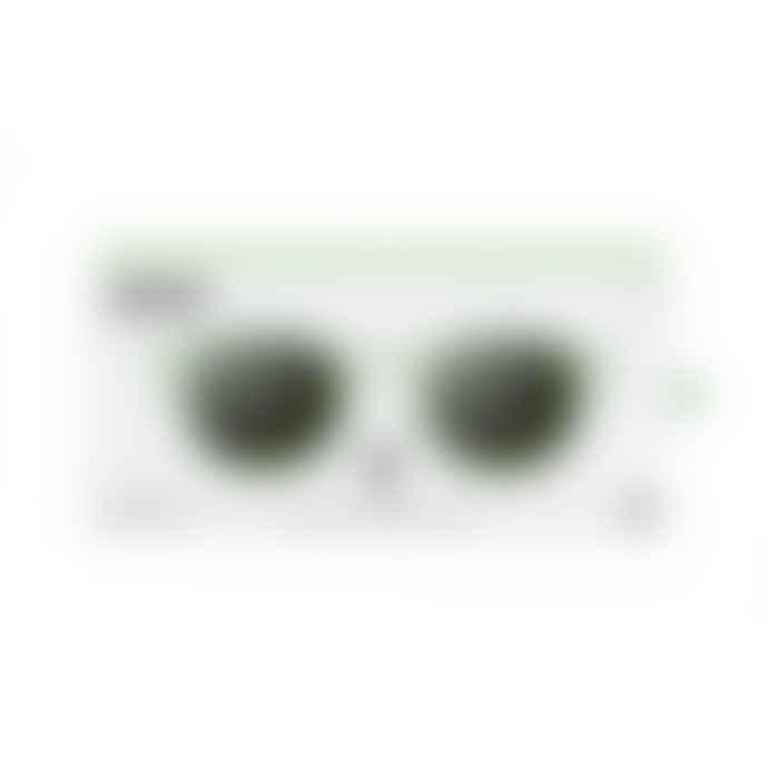 IZIPIZI Model C Sunglasses in Peppermint