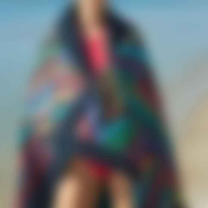 Sun Of A Beach Majorca Tiles Signature Beach Towel