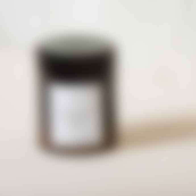 Our Lovely Goods Teak Honeysuckle Amber Scented Candle