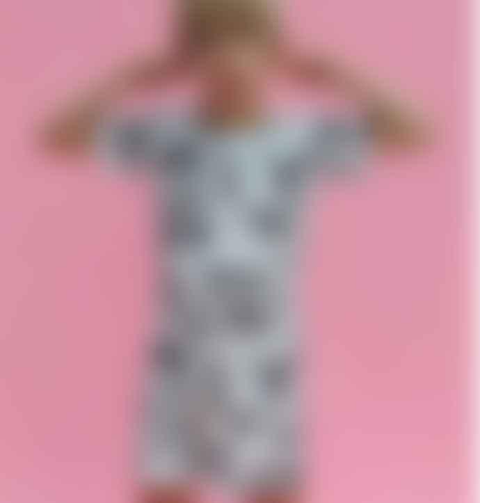 Jammie Doodles Mono Zebra Childrens Shortie Set