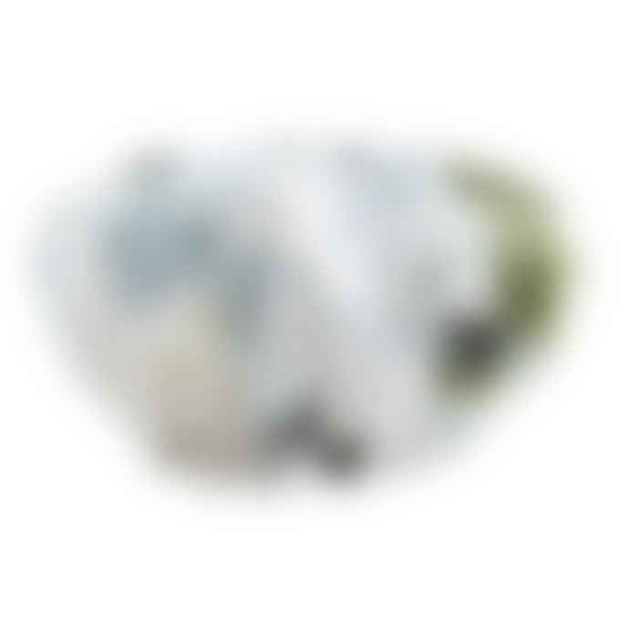 Wallace Cotton Blue Hydrangea Shower Cap