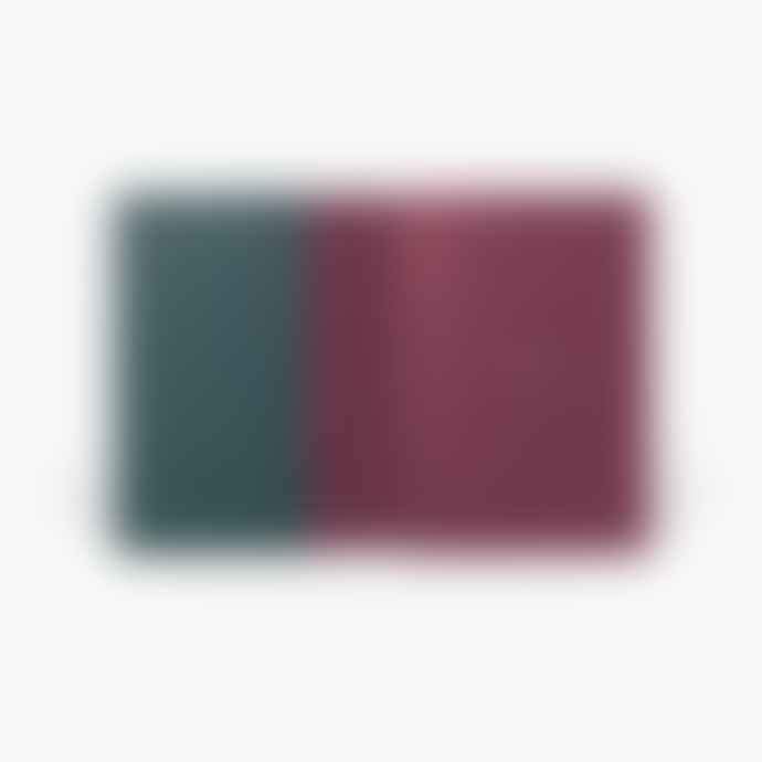 NOTEM Dark Green Small Ruled Uma Notebook