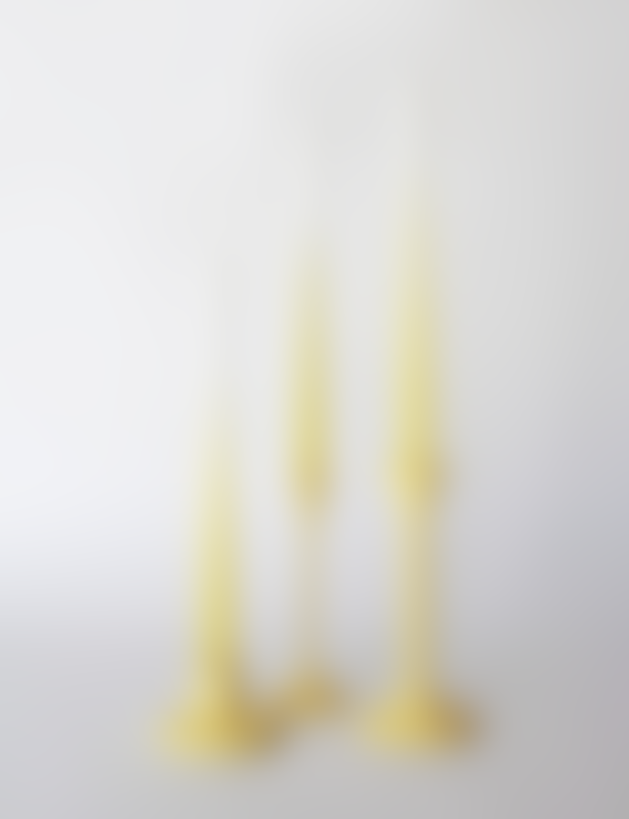 Mo Man Tai Set of 5 Gradient Candles Yellow