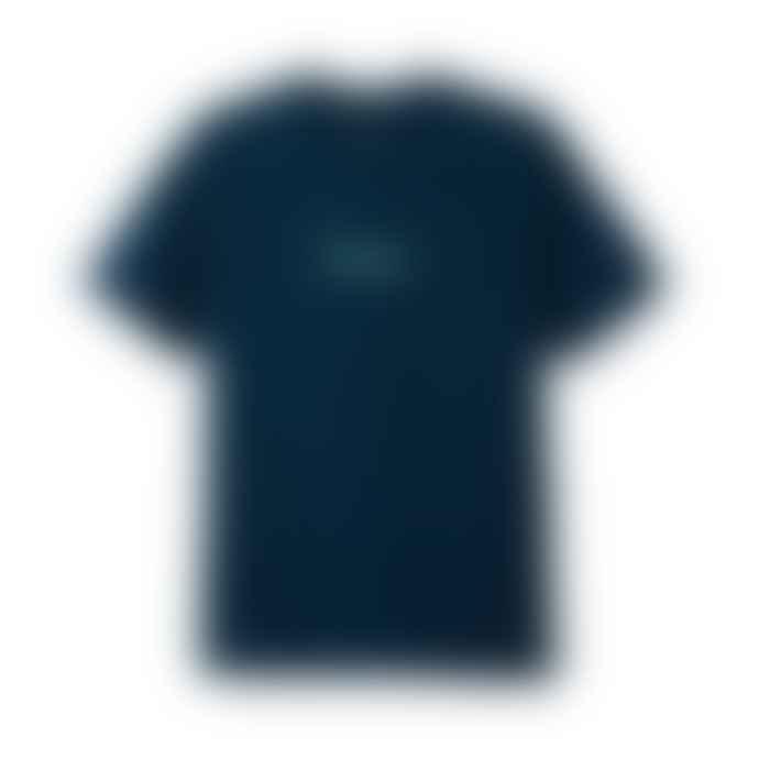 Butter Goods Classic Logo T Shirt Navy