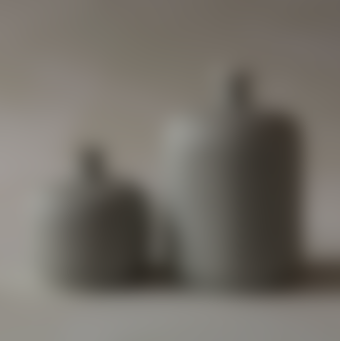 Lindform Ceramic Vase Bottle Medium Grey