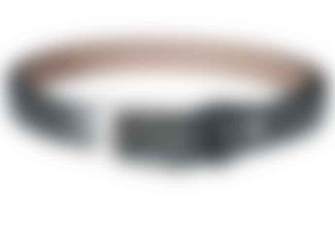 Fioriblu Metallic Belt - Pewter