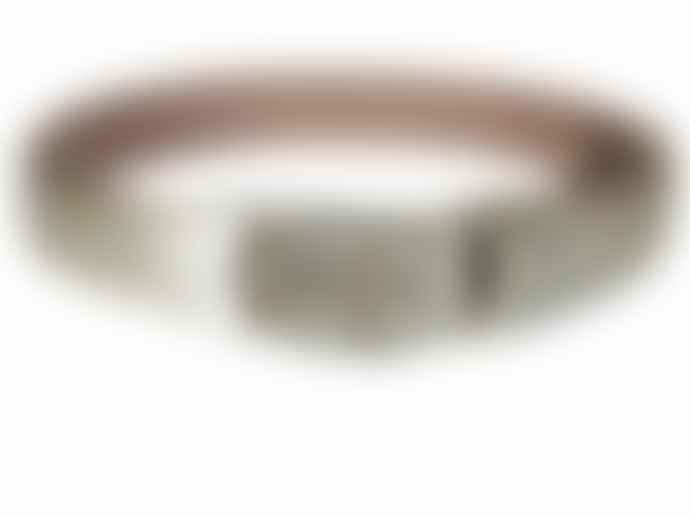 Fioriblu Metallic Belt - Pale Gold