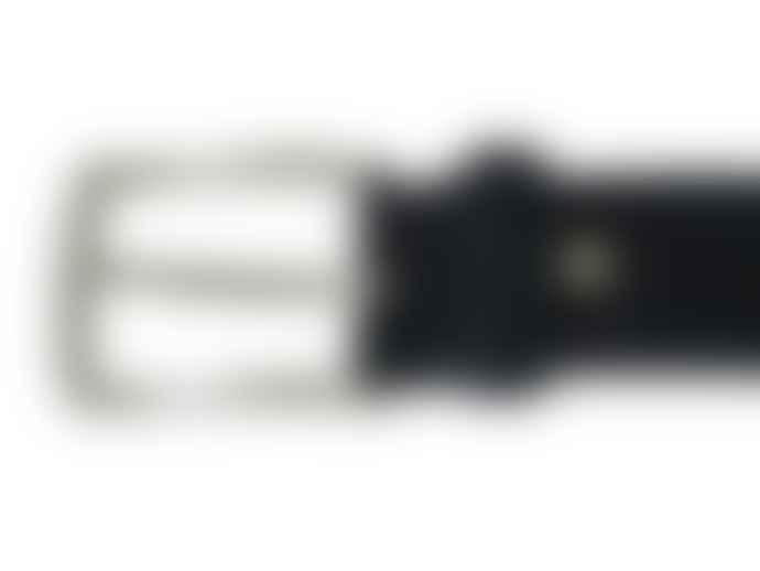 Fioriblu Papavero Range Suede Belt - Black