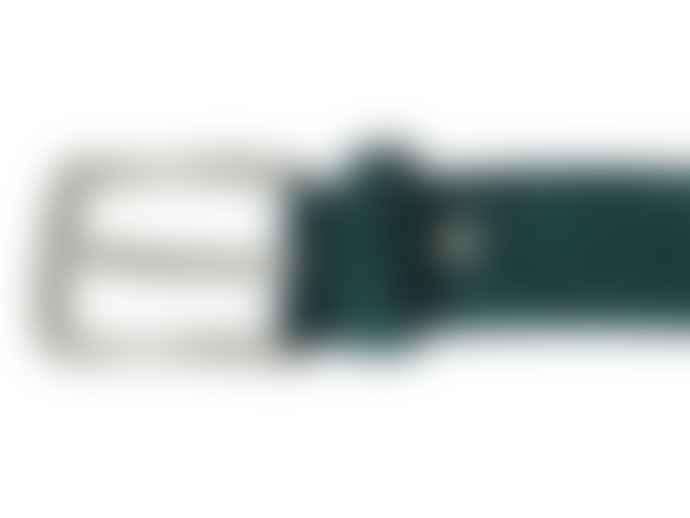 Fioriblu Papavero Range Suede Belt - Teal Green