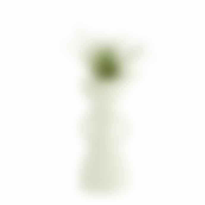 Madam Stoltz Large White Ceramic Woman Vase