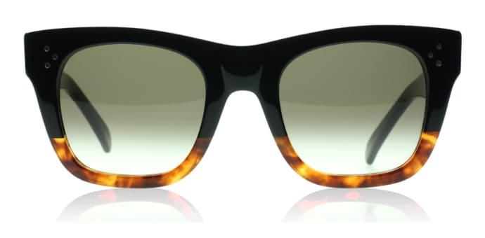 d0bdc23912682 Trouva  Small Catherine Sunglasses in Black Havana