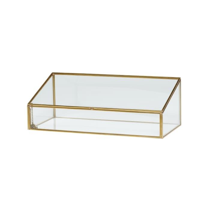 Tremendous Hubsch Brass Glass Display Box Dailytribune Chair Design For Home Dailytribuneorg