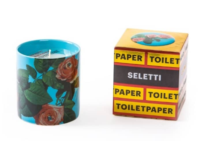 Seletti Wears TOILETPAPER Candle 'Roses'