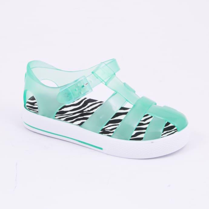 fe288fb99b2a Trouva  Green Tenis Cebra Jelly Kids Sandals