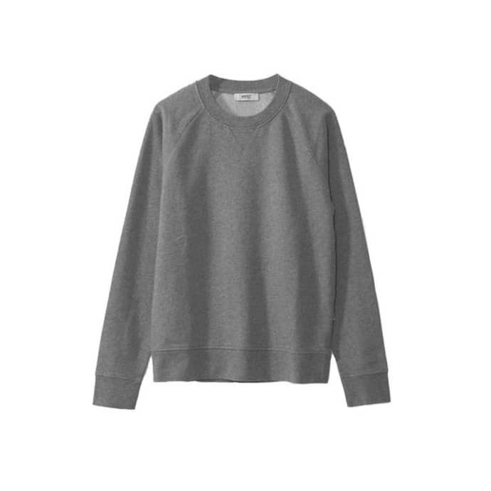 aa4628c3 WeSC Grey Melange Marvin Sweater