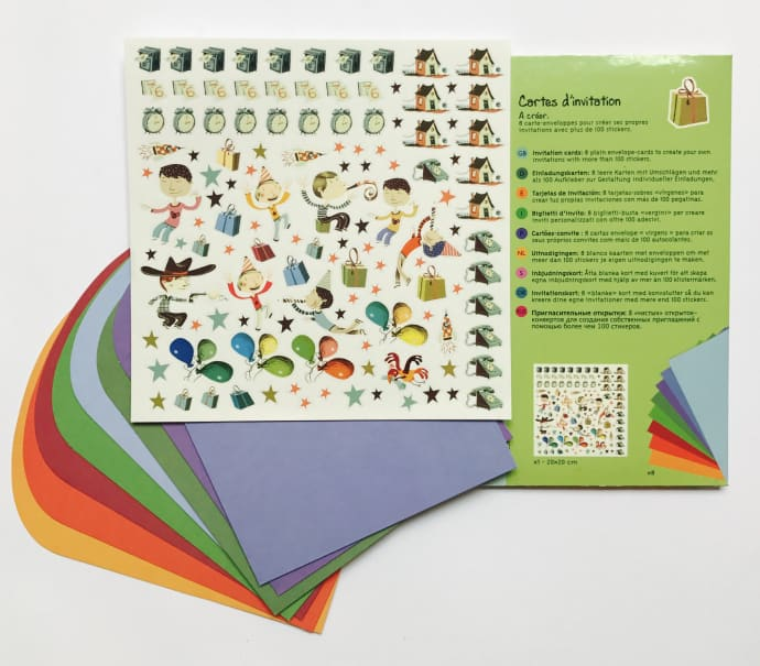 Make Your Own Party Invitations - Boy