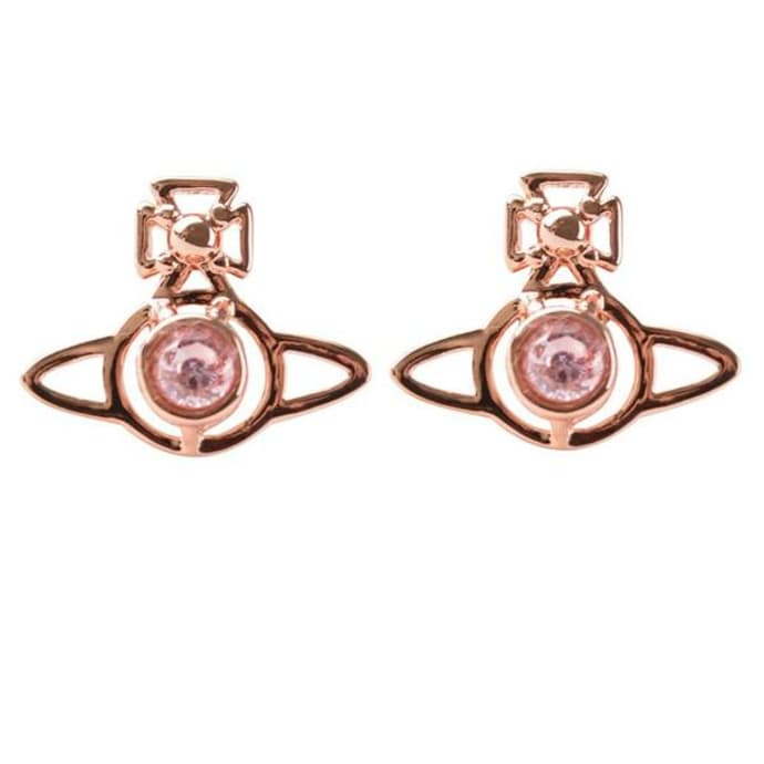dfe59a681 Pink Gold Nora Earrings. SEK 717.99. Vivienne Westwood ...