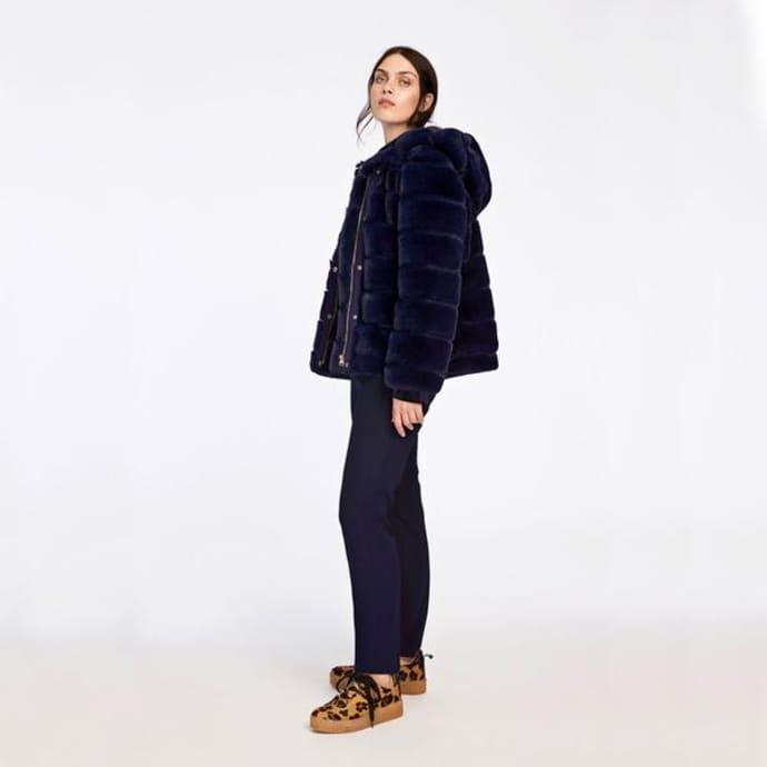 6dc870e3 ... Samsoe & Samsoe Saba Faux Fur Jacket ...