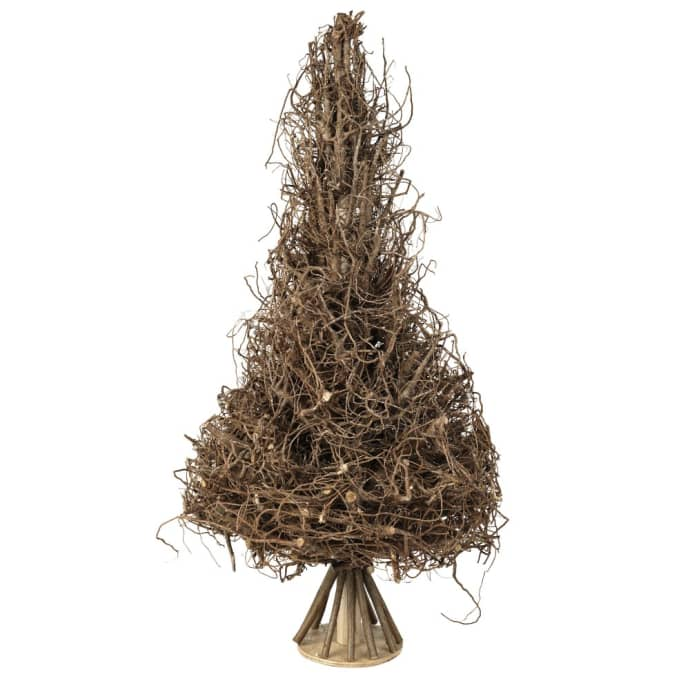 Weihnachtsbaum Rattan.Broste Copen Large Sully Natural Rattan Christmas Tree