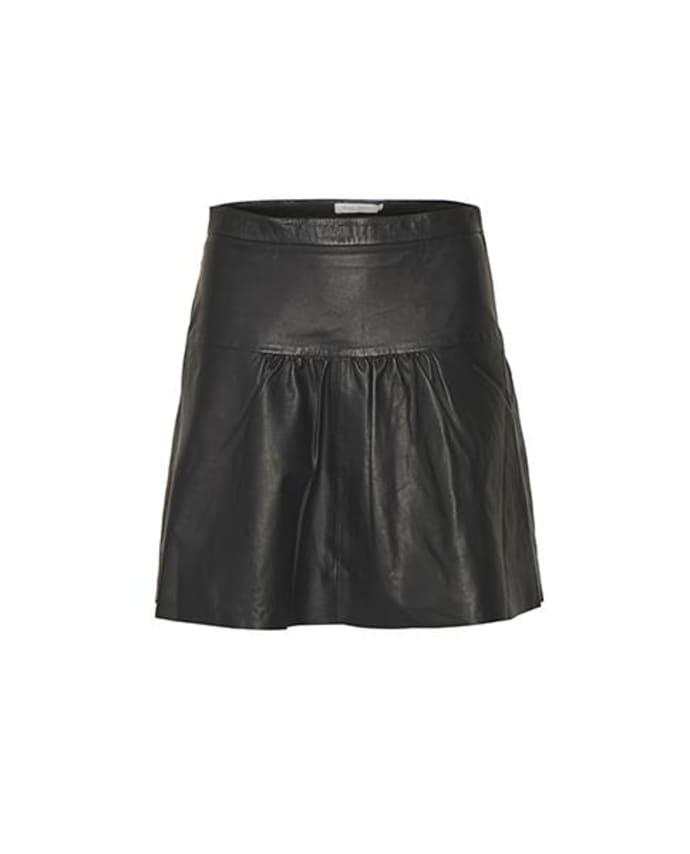 00d17f3295 Trouva: Jarah Leather Skirt