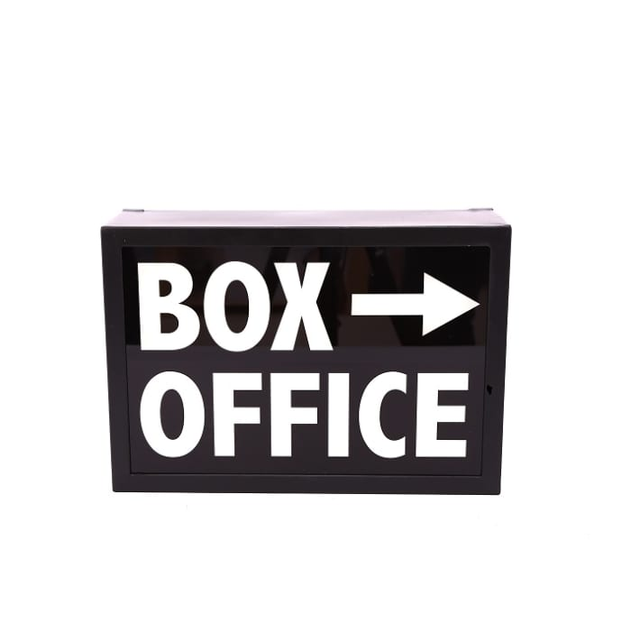 Temerity Jones Box Office Light Box