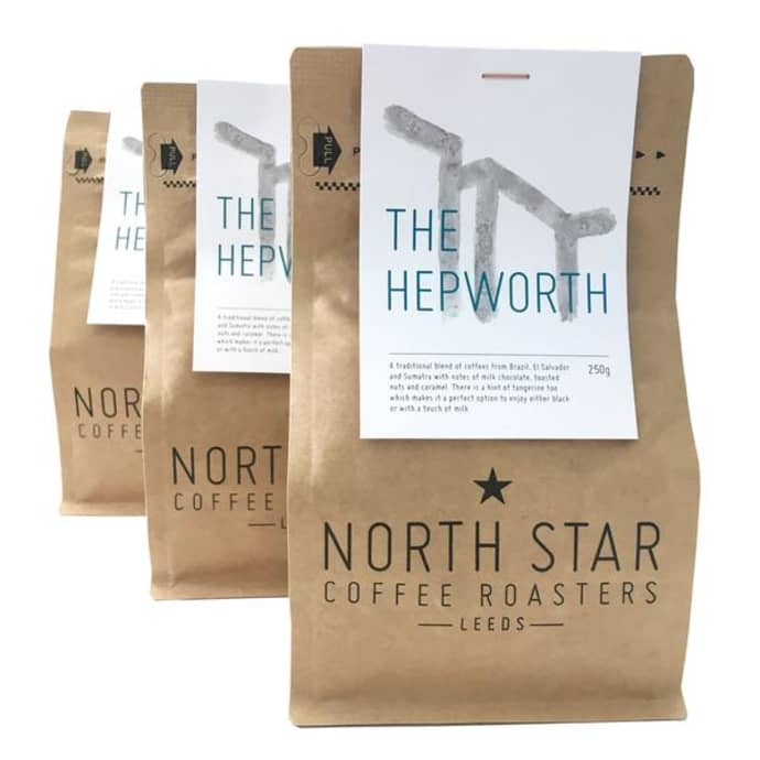 The Hepworth Wakefield Hepworth Blend North Star Coffee
