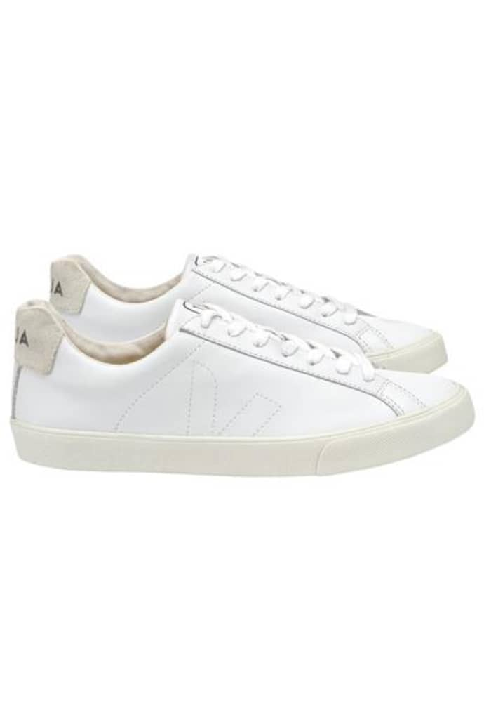 Trouva: Esplar White Leather Trainers