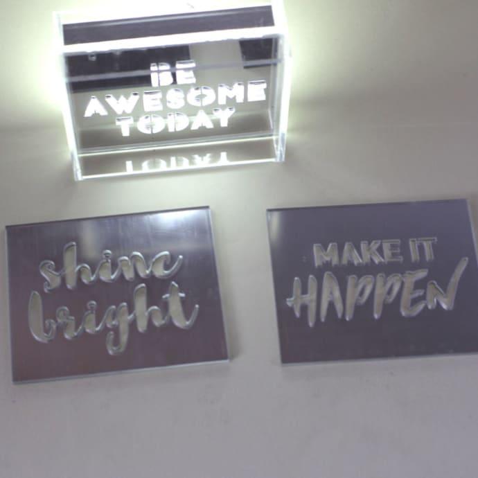 Locomocean Light Box Sign