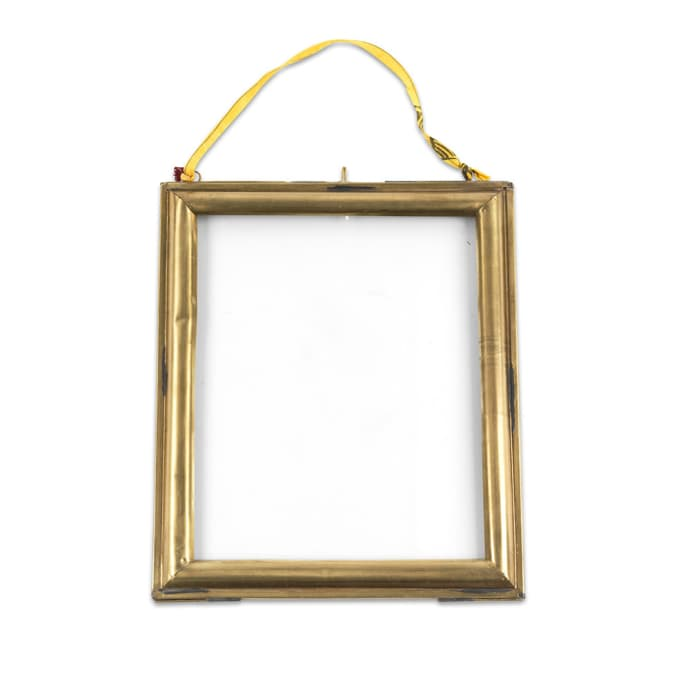 Trouva Small Kariba Antique Brass Frame