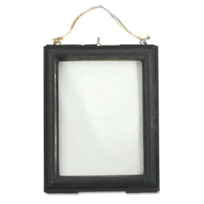 Trouva Large Antique Black Kariba Photo Frame