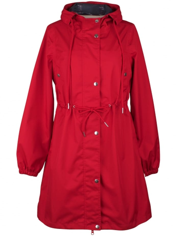 a8730135b4c Trouva: Aalborg Raincoat in Red