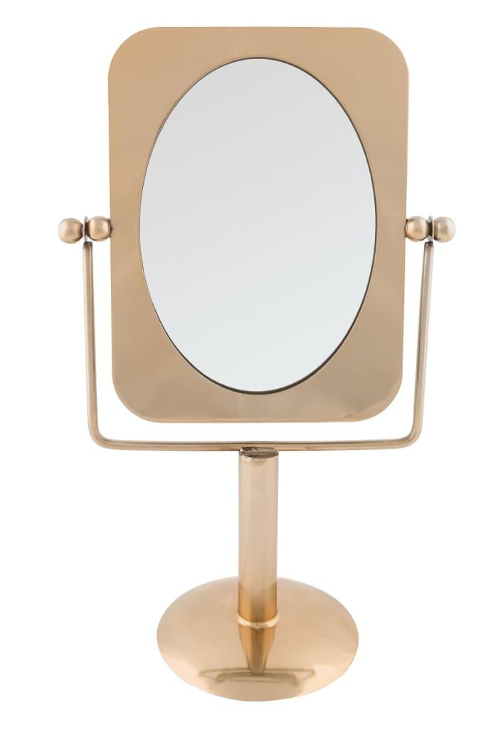 Trouva Pris Brass Vanity Mirror
