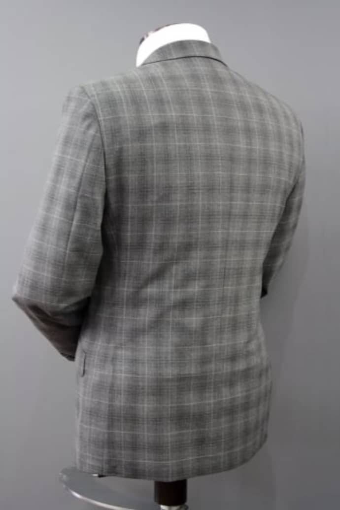 c9532a003cb58d ... Remus Uomo Palucci Grey Check 3 Piece Wool Suit ...