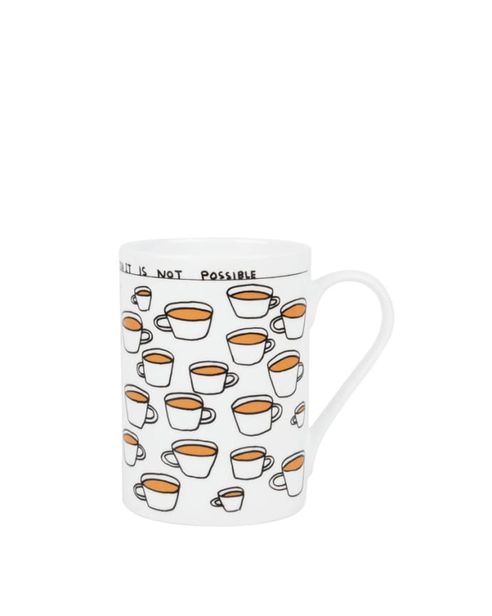 You Cannot Drink Too Much Tea Mug x David Shrigley